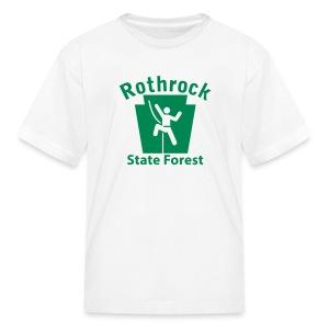 Rothrock State Forest Keystone Climber - Kids' T-Shirt