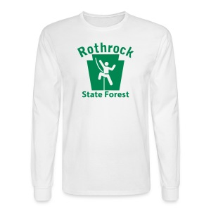 Rothrock State Forest Keystone Climber - Men's Long Sleeve T-Shirt