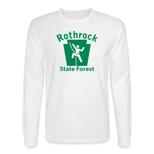 Rothrock State Forest Keystone Climber - Men's Long Sleeve T-Shirt