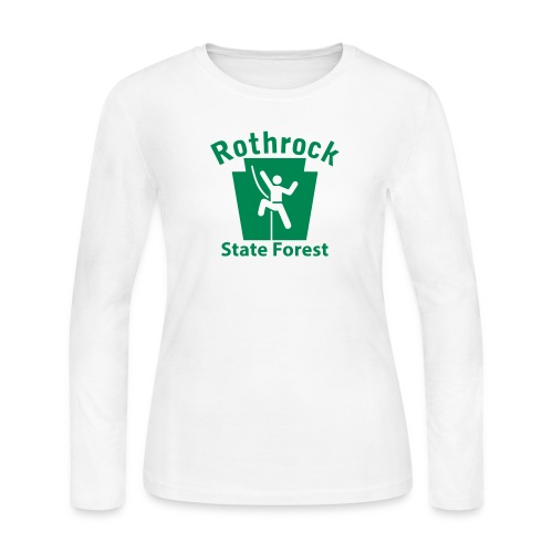 Rothrock State Forest Keystone Climber - Women's Long Sleeve Jersey T-Shirt