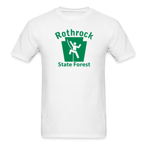Rothrock State Forest Keystone Climber - Men's T-Shirt