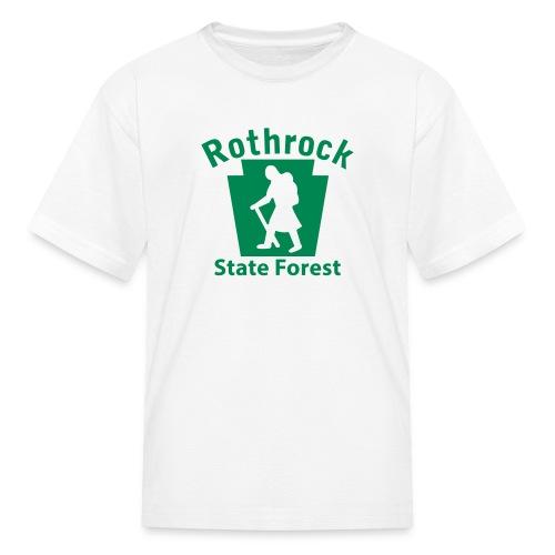 Rothrock State Forest Keystone Hiker (female) - Kids' T-Shirt