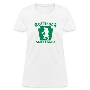 Rothrock State Forest Keystone Hiker (female) - Women's T-Shirt