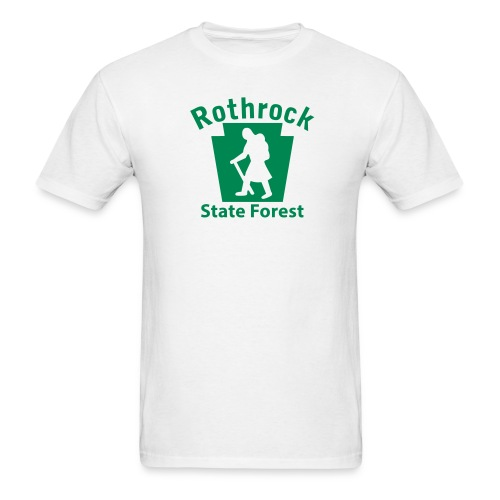 Rothrock State Forest Keystone Hiker (female) - Men's T-Shirt