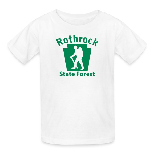 Rothrock State Forest Keystone Hiker (male) - Kids' T-Shirt