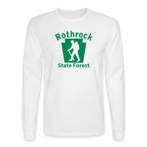 Rothrock State Forest Keystone Hiker (male) - Men's Long Sleeve T-Shirt