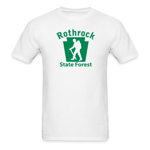 Rothrock State Forest Keystone Hiker (male) - Men's T-Shirt