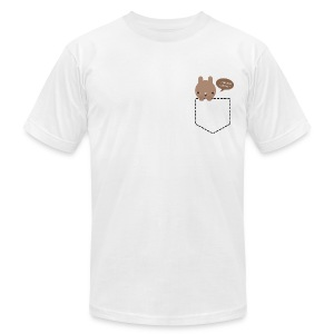 Bun in my Pocket Mens Tee - Men's T-Shirt by American Apparel