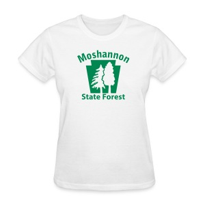 Moshannon State Forest Keystone w/Trees - Women's T-Shirt