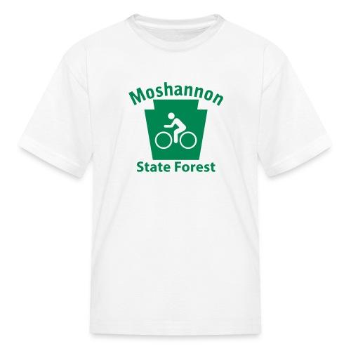 Moshannon State Forest Keystone Biker - Kids' T-Shirt