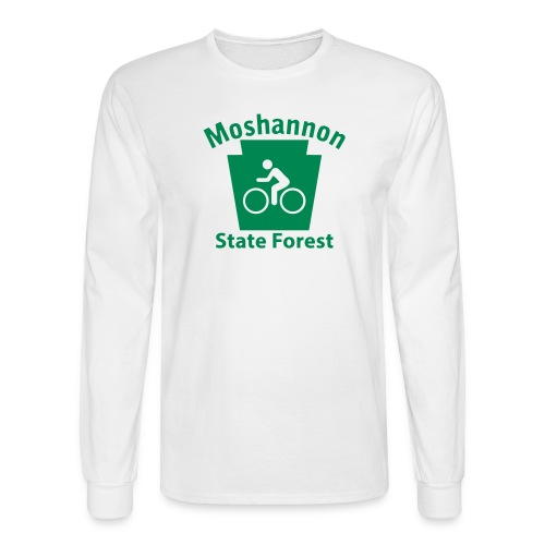 Moshannon State Forest Keystone Biker - Men's Long Sleeve T-Shirt