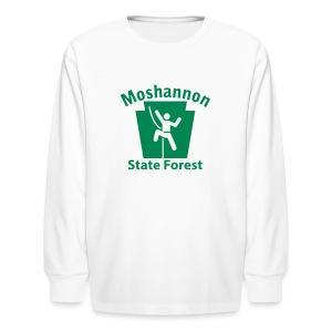 Moshannon State Forest Keystone Climber - Kids' Long Sleeve T-Shirt