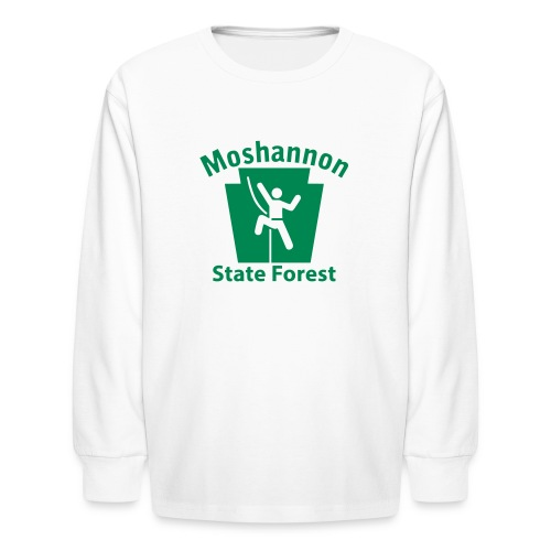 Moshannon State Forest Keystone Climber - Kids' Long Sleeve T-Shirt
