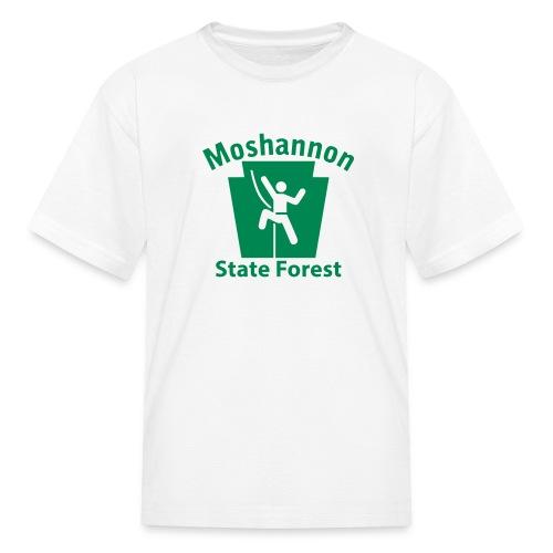 Moshannon State Forest Keystone Climber - Kids' T-Shirt