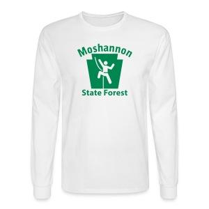 Moshannon State Forest Keystone Climber - Men's Long Sleeve T-Shirt