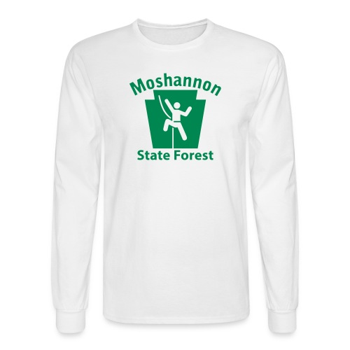 Moshannon State Forest Keystone Climber - Men's Long Sleeve T-Shirt