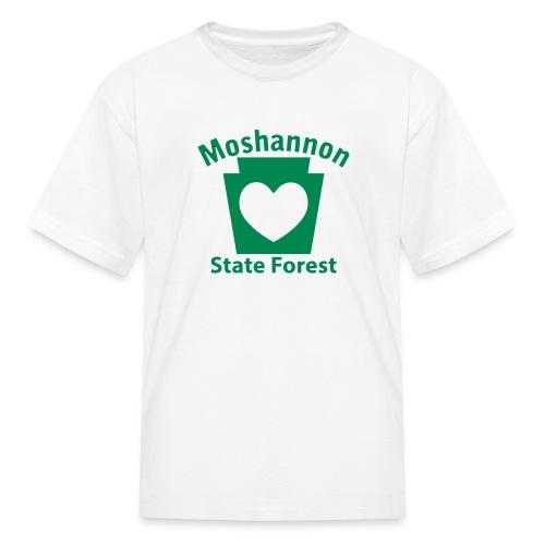 Moshannon State Forest Keystone Heart - Kids' T-Shirt