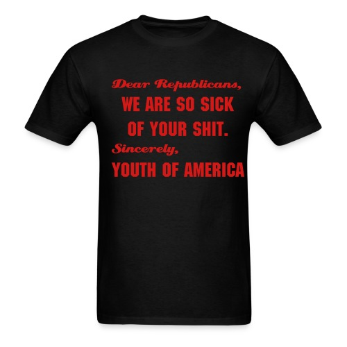 Dear Republicans - Men's T-Shirt