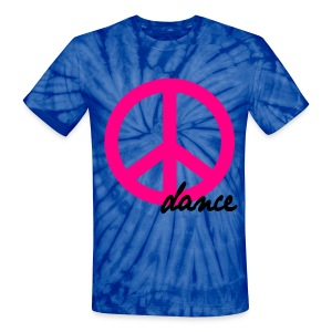 PEACE TIE DYE - Unisex Tie Dye T-Shirt