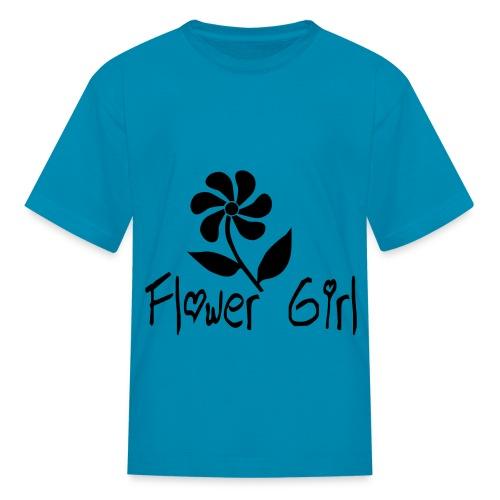 Flower Girl - Kids' T-Shirt