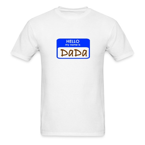 Hello I'm Dada - Men's T-Shirt