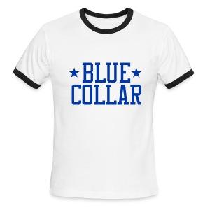 Blue Collar - Men's Ringer T-Shirt
