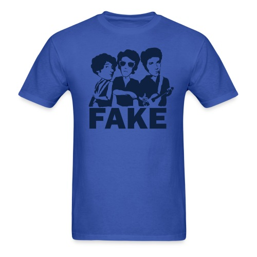 Fake (Men's Royal) - Men's T-Shirt