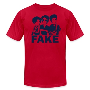 American Apparel Fake (Men's - Aqua) - Men's T-Shirt by American Apparel