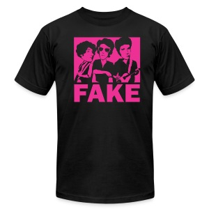 American Apparel Fake (Men's - Black) - Men's T-Shirt by American Apparel