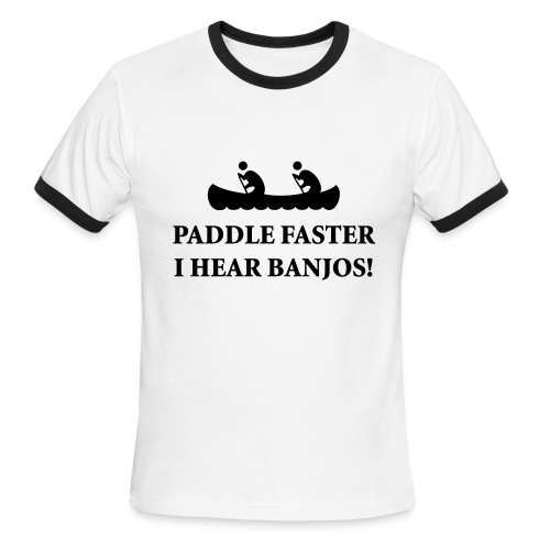 Paddle! Camp Counselor Tee - Men's Ringer T-Shirt