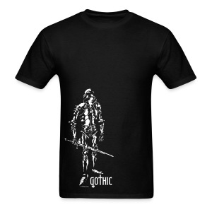 Gothic Knight Black - Men's T-Shirt