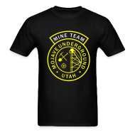 T-Shirts ~ Men's T-Shirt ~ Mine Team Logo Shirt