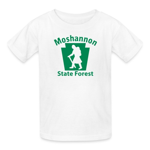 Moshannon State Forest Keystone Hiker (female) - Kids' T-Shirt