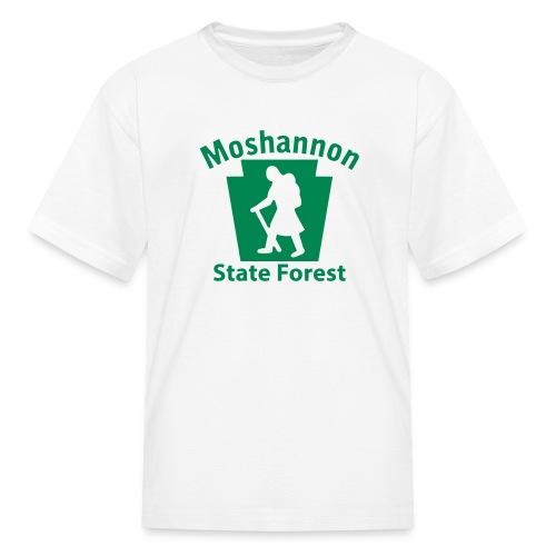 Moshannon State Forest Keystone Hiker (female) - Kids' T-Shirt