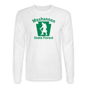 Moshannon State Forest Keystone Hiker (female) - Men's Long Sleeve T-Shirt