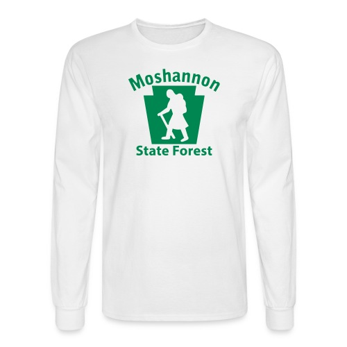 Moshannon State Forest Keystone Hiker (female) - Men's Long Sleeve T-Shirt