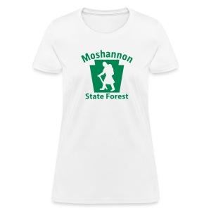 Moshannon State Forest Keystone Hiker (female) - Women's T-Shirt