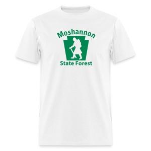 Moshannon State Forest Keystone Hiker (female) - Men's T-Shirt