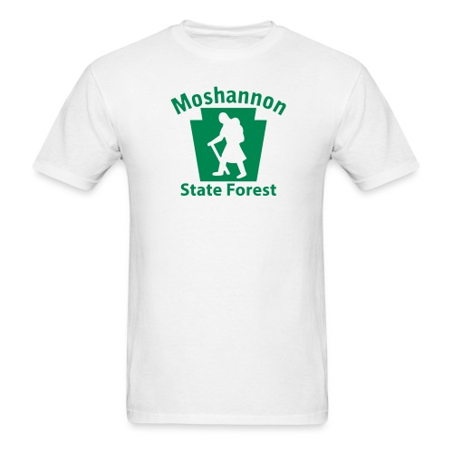 Moshannon State Forest Keystone Hiker (female) - Men's T-Shirt
