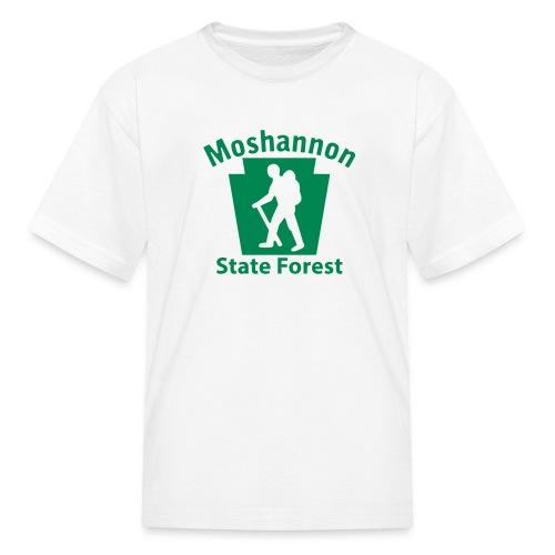 Moshannon State Forest Keystone Hiker (male) - Kids' T-Shirt