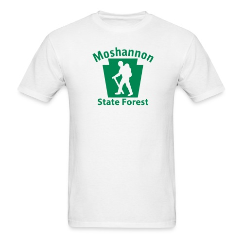 Moshannon State Forest Keystone Hiker (male) - Men's T-Shirt
