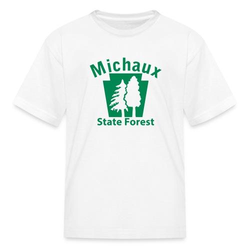 Michaux State Forest Keystone w/Trees - Kids' T-Shirt