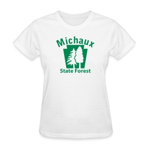 Michaux State Forest Keystone w/Trees - Women's T-Shirt