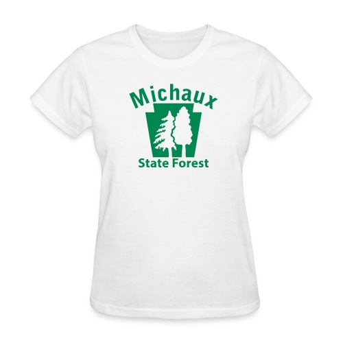Michaux State Forest Keystone w/Trees - Women's T-Shirt