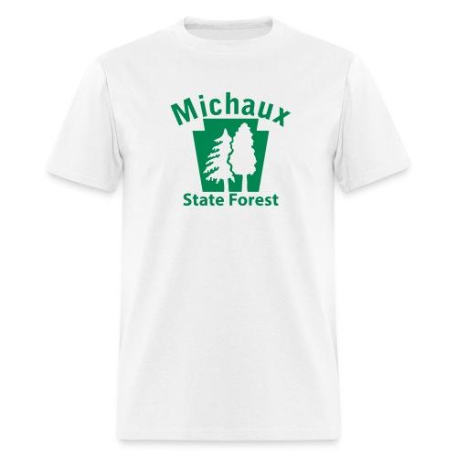 Michaux State Forest Keystone w/Trees - Men's T-Shirt