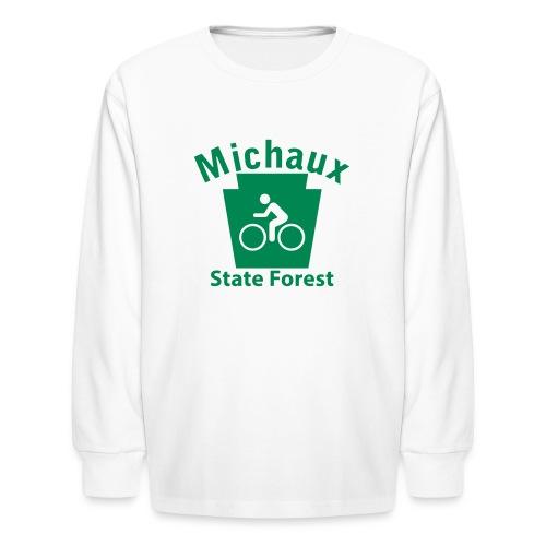 Michaux State Forest Keystone Biker - Kids' Long Sleeve T-Shirt
