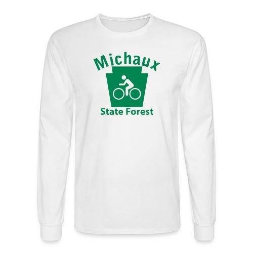 Michaux State Forest Keystone Biker - Men's Long Sleeve T-Shirt