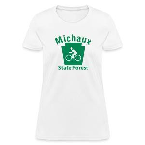 Michaux State Forest Keystone Biker - Women's T-Shirt