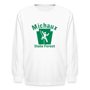 Michaux State Forest Keystone Climber - Kids' Long Sleeve T-Shirt