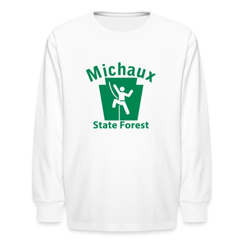 Michaux State Forest Keystone Climber - Kids' Long Sleeve T-Shirt